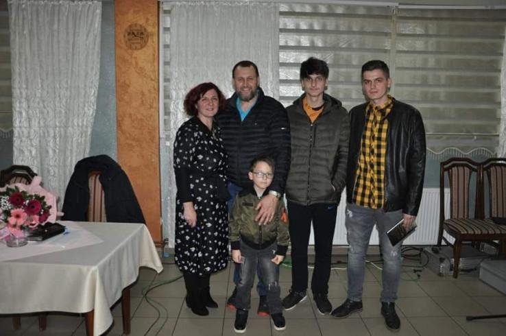 Zemina Suljanović sa suprugom i sinovima: Najveća podrška