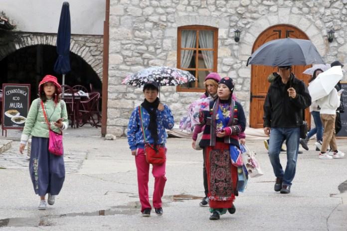 Turisti u posjeti hercegovačkom gradu
