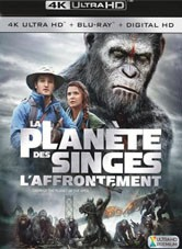 La Planète Des Singes : L'affrontement : planète, singes, l'affrontement, Planète, Singes,, L'affrontement, Ultra, Blu-Ray