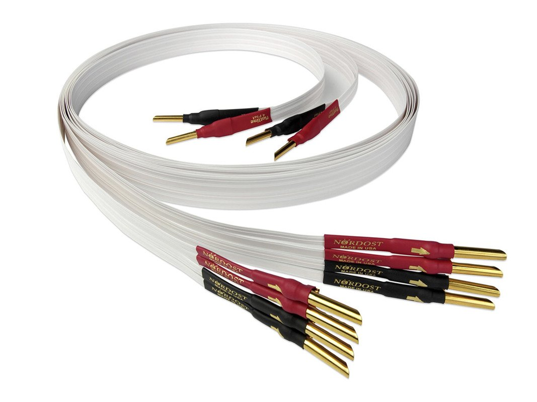 hight resolution of nordost 4 flat speaker cable bi wire