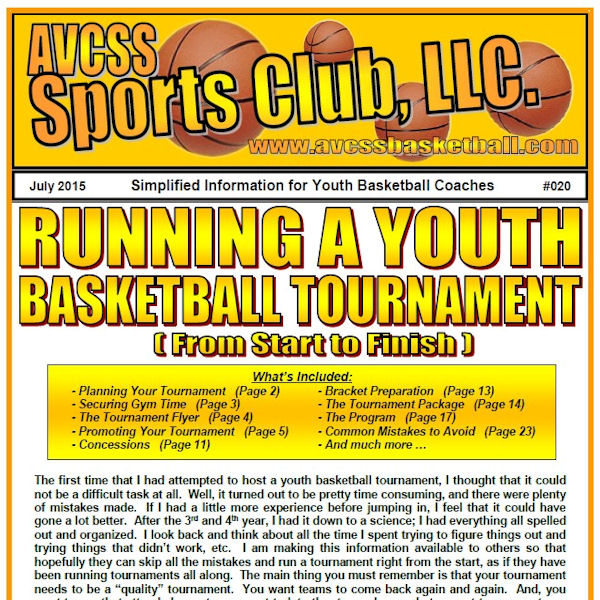 Running a Youth Basketball Tournament