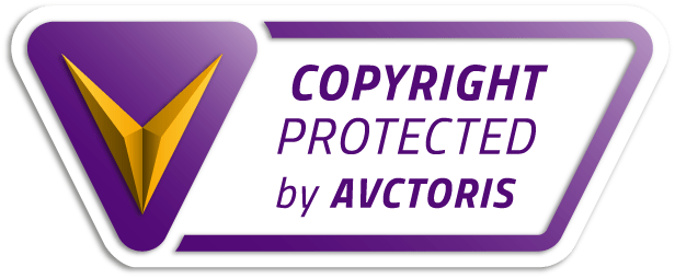 "Selo de ""Copyright"" registrado no Avctoris"