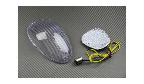 small resolution of  led taillight with integrated turn signals for kawasaki vulcan vn900