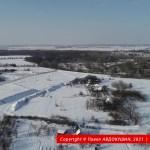 Насыпь трассы упирается в Орель на окраине Могилева