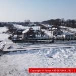 Развязка Н-31 с ЖД в Бутенках
