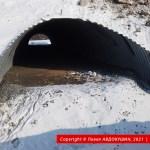 Развязка Н-31 с ЖД в Бутенках. Виаконовский скотопрогонник