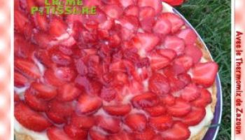 Tarte Aux Fraises Thermomix Companion Et I Cook In Versions Normale
