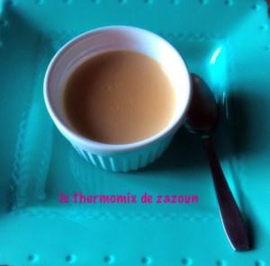 Cremes Dessert Au Carambar Ou Caramel Thermomix Avec Le