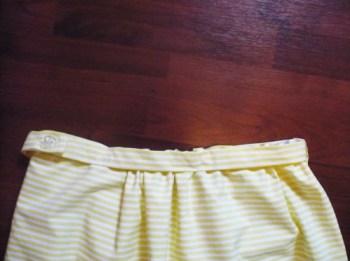 ceinture jupe facile à coudre
