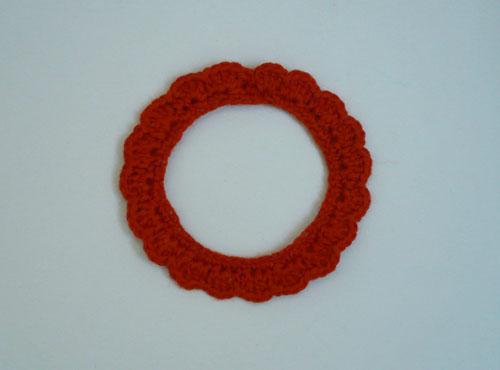 cadre simple au crochet