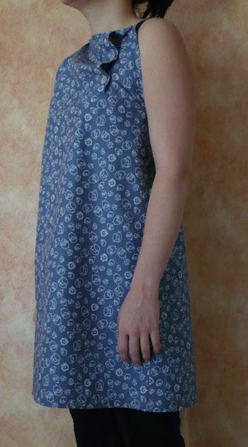 tunique couture japonaise gris