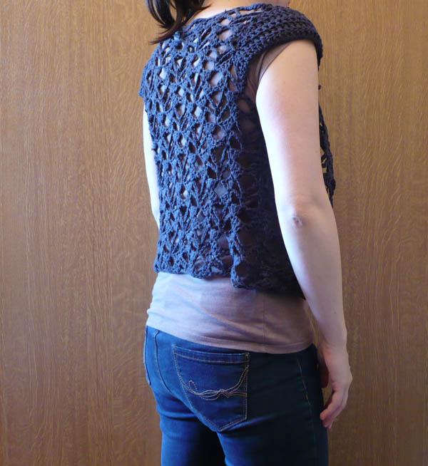 gilet crochet coton rapide 4