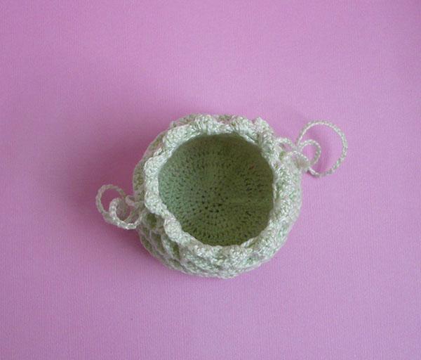 aumoniere crochet sac