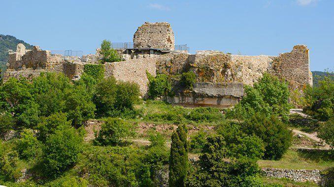 Ruinas del castillo de Siurana.