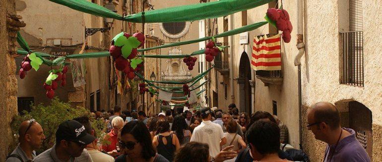 Fiesta del vino y la vendimia de Poboleda: La vendimia como antes