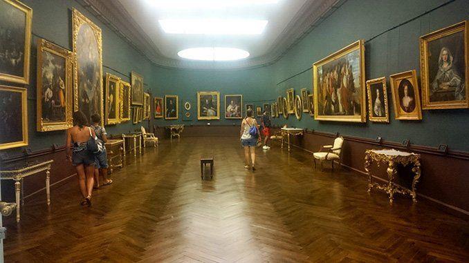 Una de las salas del Palacio Nuevo