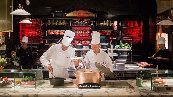 La Rostisserie. Foto: Les Grands Buffets.