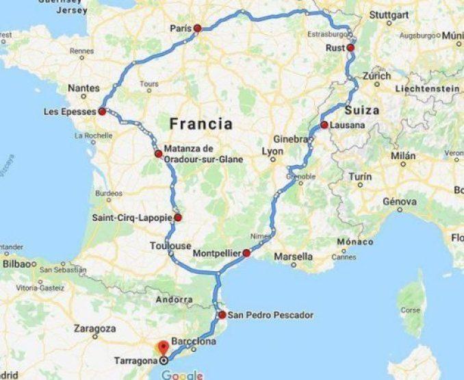 33 días y 32 noches en caravana por Europa