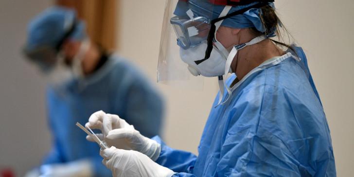 Koronoios test eody maska plastiki 0