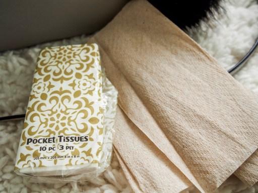 What's in My Purse? Kate Spade Cedar Street Edition - Facial Tissues & Napkins