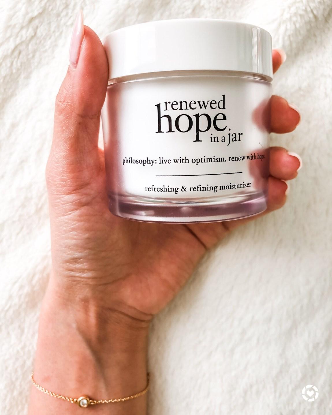 Philosophy Renewed Hope in a Jar Moisturizer