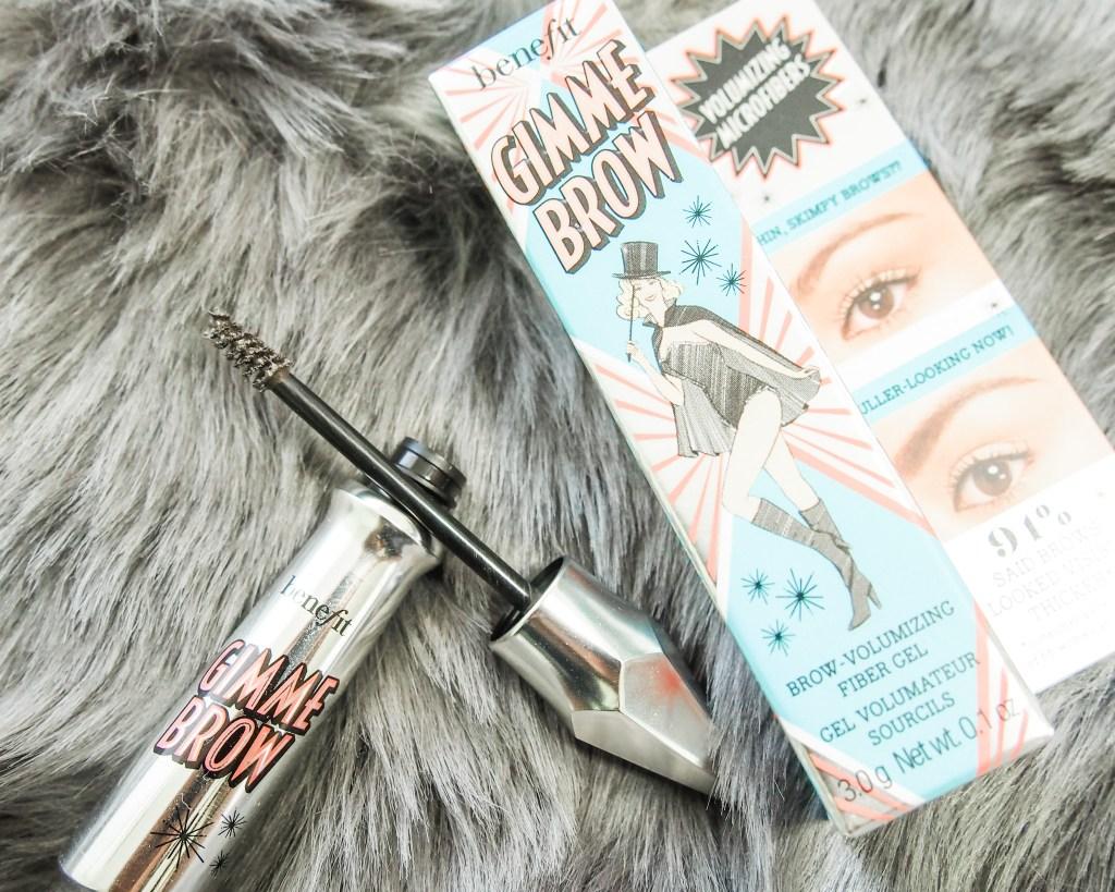 Mini Makeup Haul for Treat Yo Self Day | Benefit Gimme Brow Volumizing Eyebrow Gel