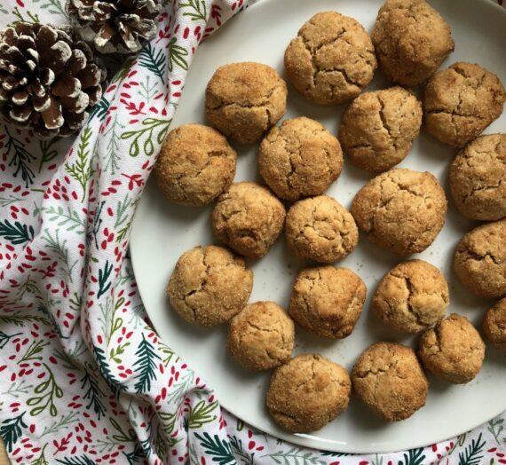 Chai spiced snickerdoodle cookies // Cookies aux épices