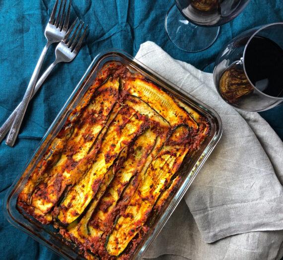 Zucchini Lasagne // Lasagne aux Courgettes