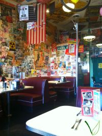 Cafe 50s booths
