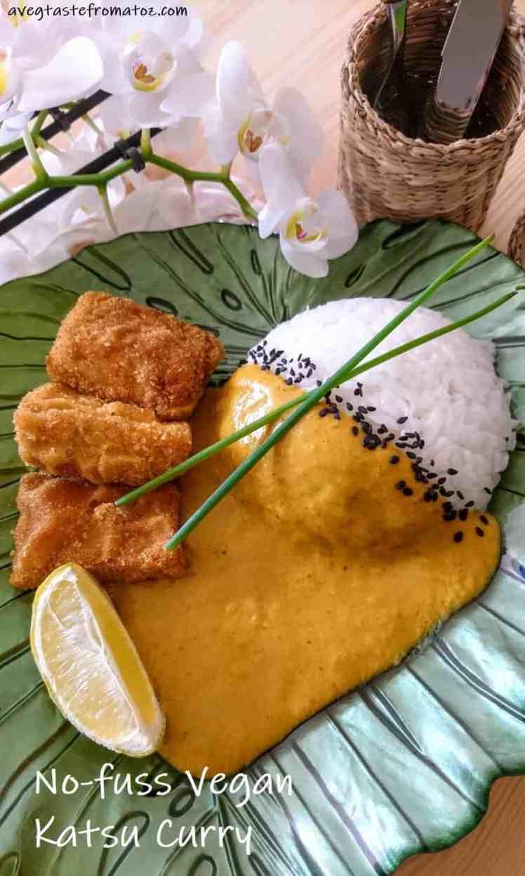 katsu tofu curry croccante