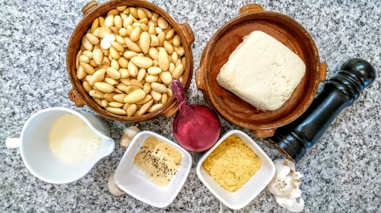 Vegan Almond Ricotta ingredients