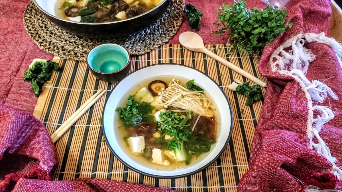 Tasty and Rich Miso Soup 100% Homemade
