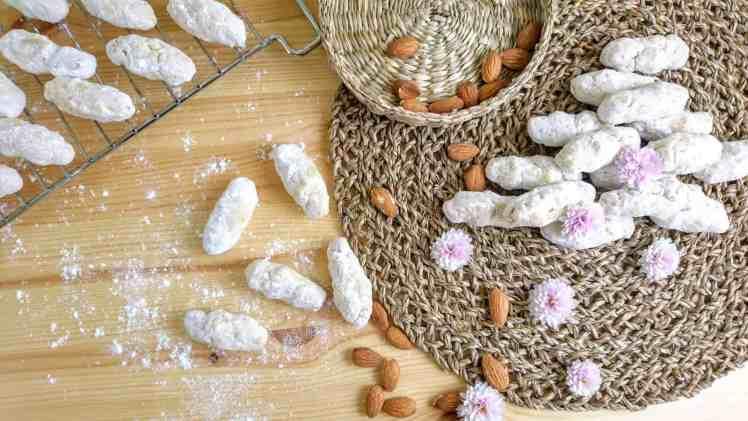 Grandma's Greek Cookies served