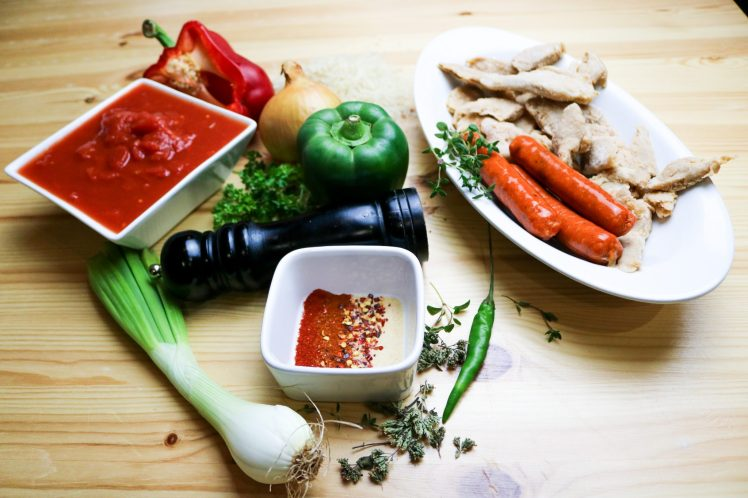 Ingredienti Jambalaya Classica Vegana