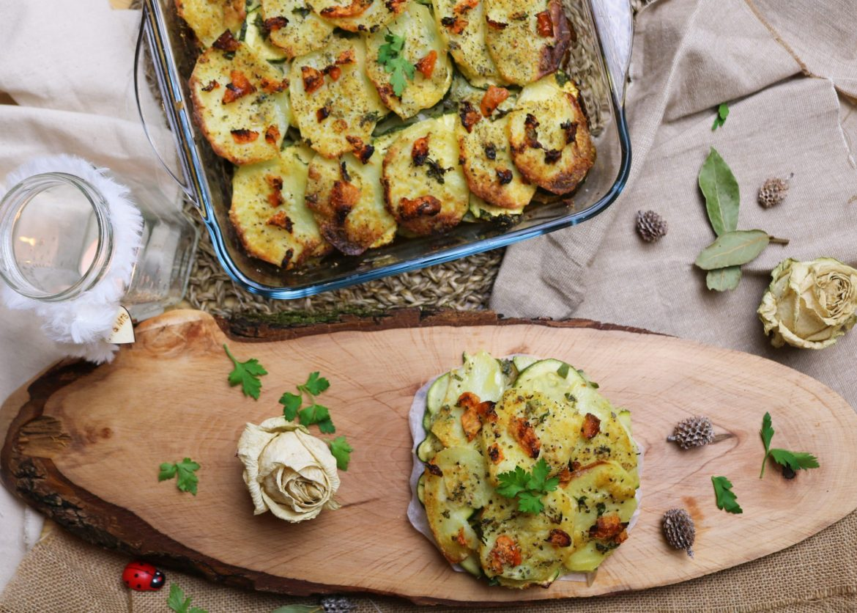 Patate e Zucchine al Forno (Ricetta della Nonna)