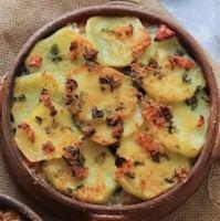 vegan rice potato and nori bake italian tiella from puglia