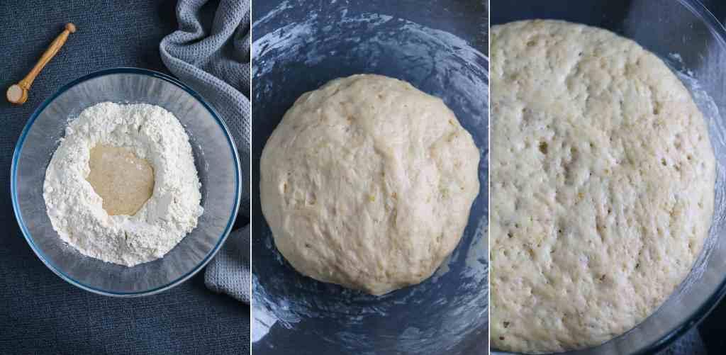 brioche dough for pull apart bread