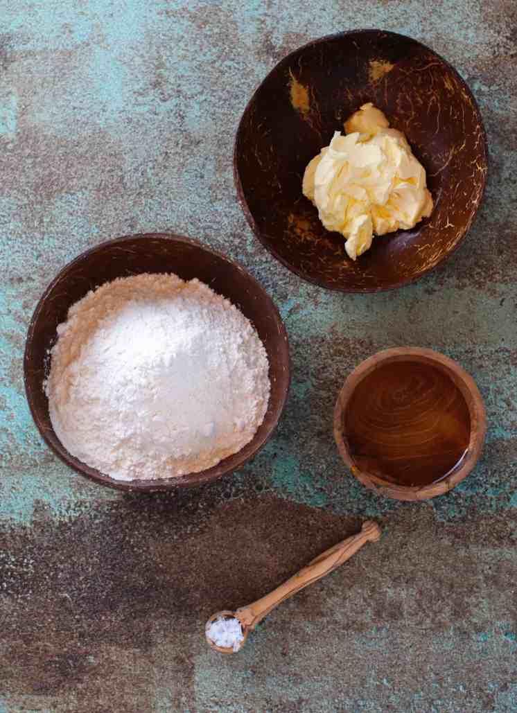 Vagan Shortcrust Pastry Ingredients