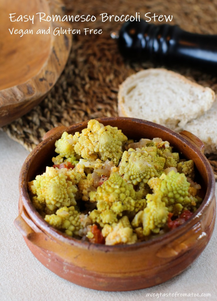 broccolo romanesco stufato immagine per pinterest