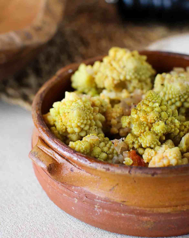 Broccolo Romanesco Stufato