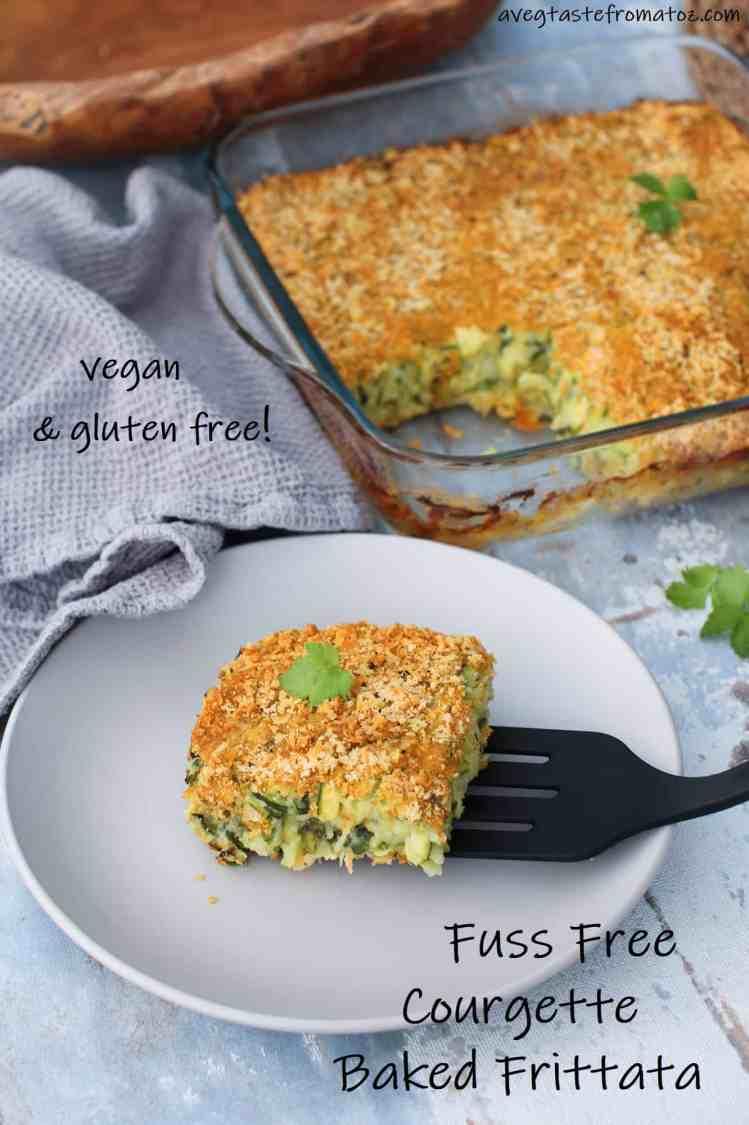"""Facilissima """"Frittata"""" Vegan di Zucchine al Forno immagine per pinterest"""