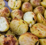 Easy Skin On Roasted Potatoes