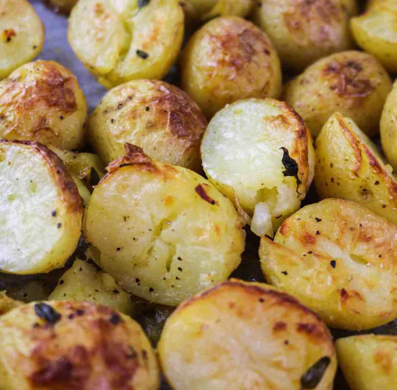 Easy Skin On Roasted Potatoes
