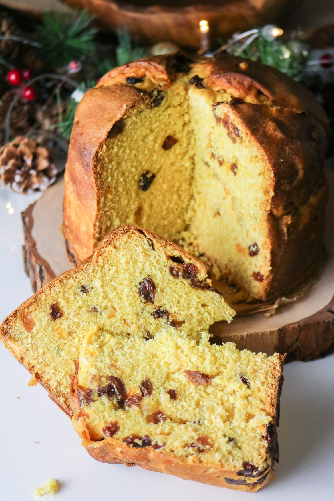 Homemade Vegan Panettone