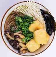 Best Vegan Mushroom Soba Noodle Ramen