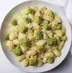 Gnocchi in Crema di Broccolo Romanesco