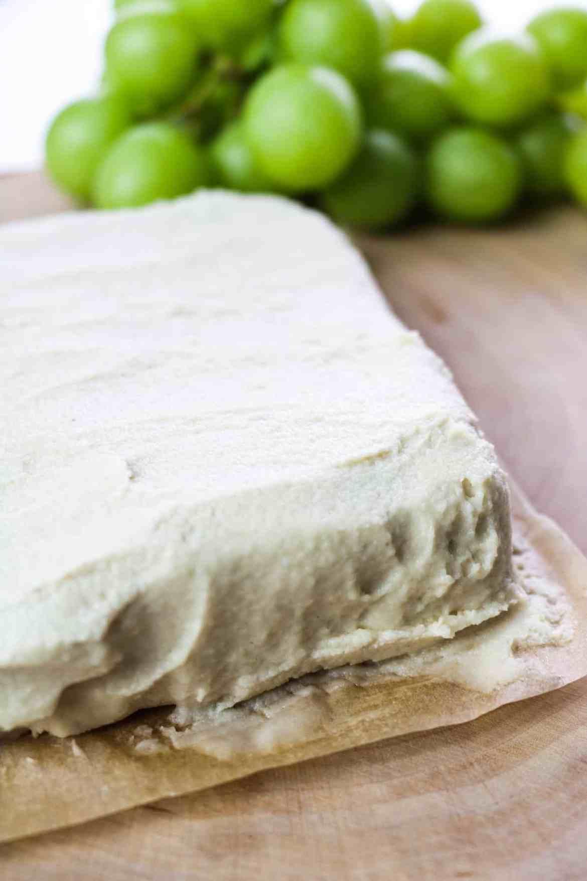 vegan overnight fermented cream cheese whole half screen
