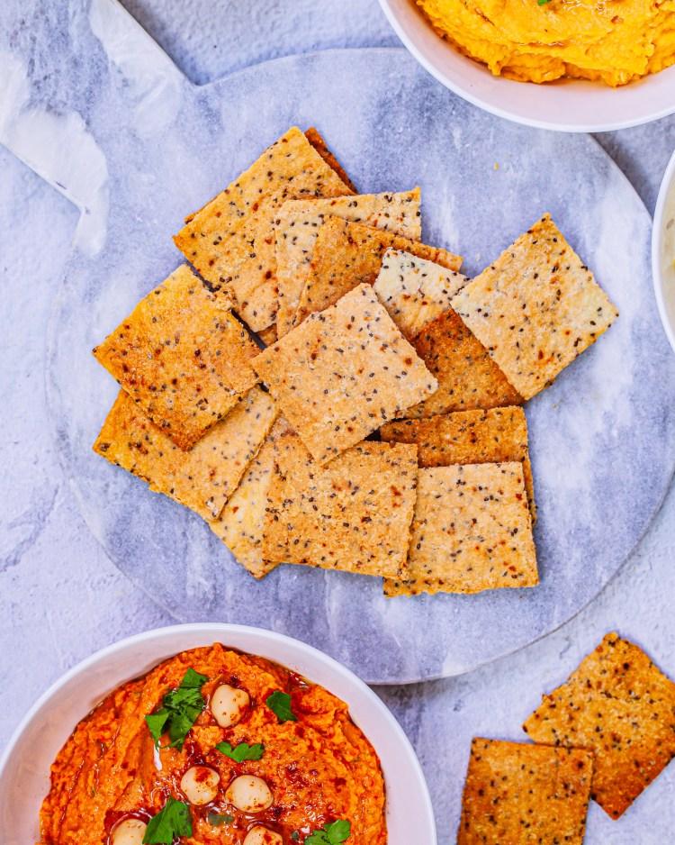 Crackers sin gluten: receta de galletas saladas
