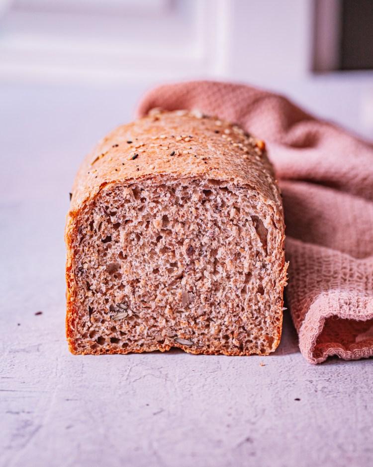 El mejor pan de molde integral saludable