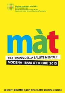 Màt _ Settimana della salute mentale _ Libretto Programma